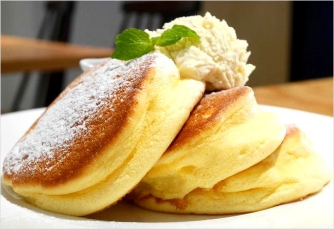 幸せのパンケーキ メニュー