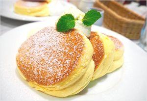 人気のパンケーキ