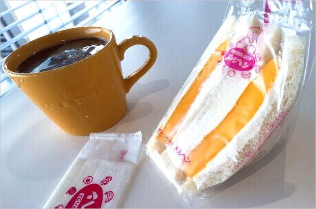 メルヘンのサンドイッチ