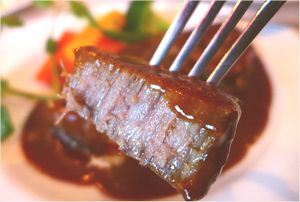 神戸牛の料理