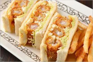 サンドイッチモーニングセット