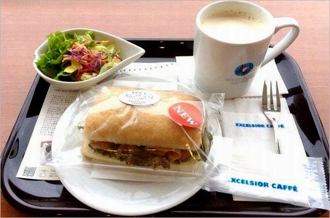 【エクセルシオールカフェ】モーニングメニューのカロリーや値段は?