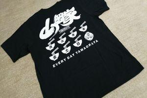 山岡家のTシャツ
